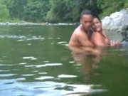 Imagen Pareja caliente cogen en un rio