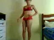 Imagen Mi morra desnudandose y bailando para mi