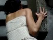 Imagen Cogida rapida con una mexicana en el patio