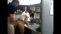 Imagen Cogida rapidin en la oficina con una compañera